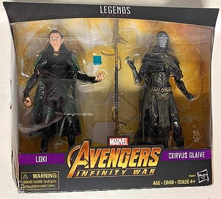 MV Legends Series Avengers: Infinity War Loki & Corvus Glaive 2-Pack
