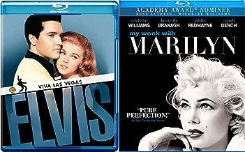 Elvis Vs Marilyn - Viva Las Vegas & My Week With Marilyn Star Set