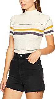 Wrangler Women's Nico Knitted Tee, Dust