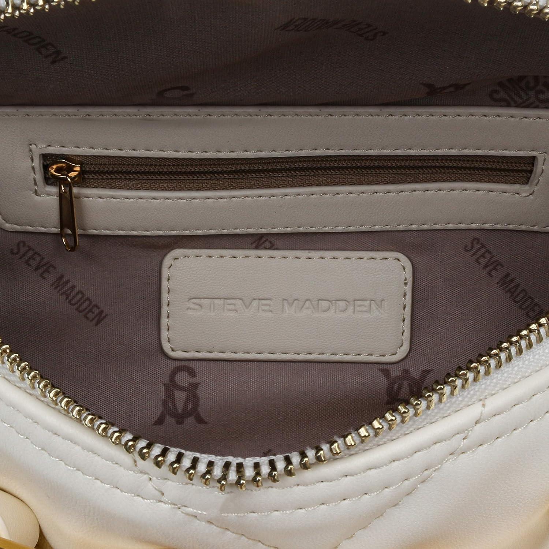 Steve Madden Quilted Convertible Belt Bag Crossbody