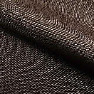 NOVELY Oxford 210D | Polyester | anschmiegsam nachgiebig | Meterware Segeltuch Braun