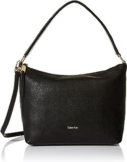 Best calvin klein black leather handbag Reviews