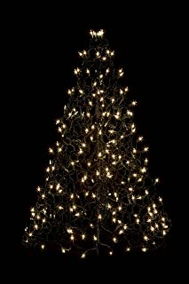 Crab Pot Trees 3 ft. Indoor/Outdoor Pre-Lit Incandescent Artificial Christmas Tree with Green Frame and 200 Clear Lights