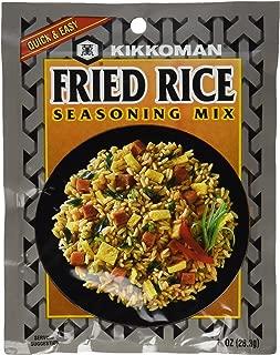 Kikkoman Fried Rice Seasoning Mix, 1-ounce Pack (Pack of 10)