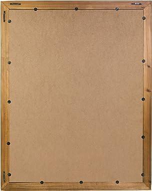 kieragrace Muskoka Terrell Mirror - Walnut, 22-Inch by 29-Inch, Décor Mirror