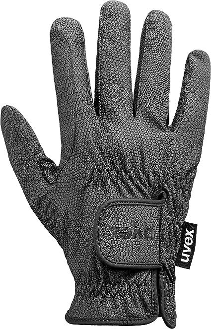 Uvex i-performance 2 Reithandschuhe Handschuhe Reiten schwarz pink atmungsaktive