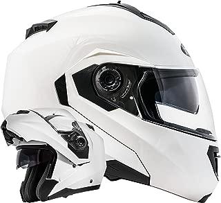conforme allo standard di sicurezza ECE 2205 GS Nevada rosso casco da MotoCross con parasole rimovibile