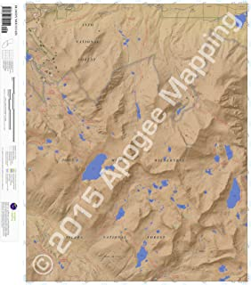 Bloody Mountain, California 7.5 Minute Topographic Map - Waterproof Paper