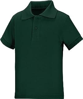 Classroom School Uniforms Unisex Kids Preschool Unisex Short Sleeve Pique Polo Polo Shirt