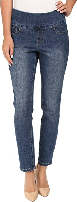 Amelia Slim Ankle Comfort Denim in Blue Dive