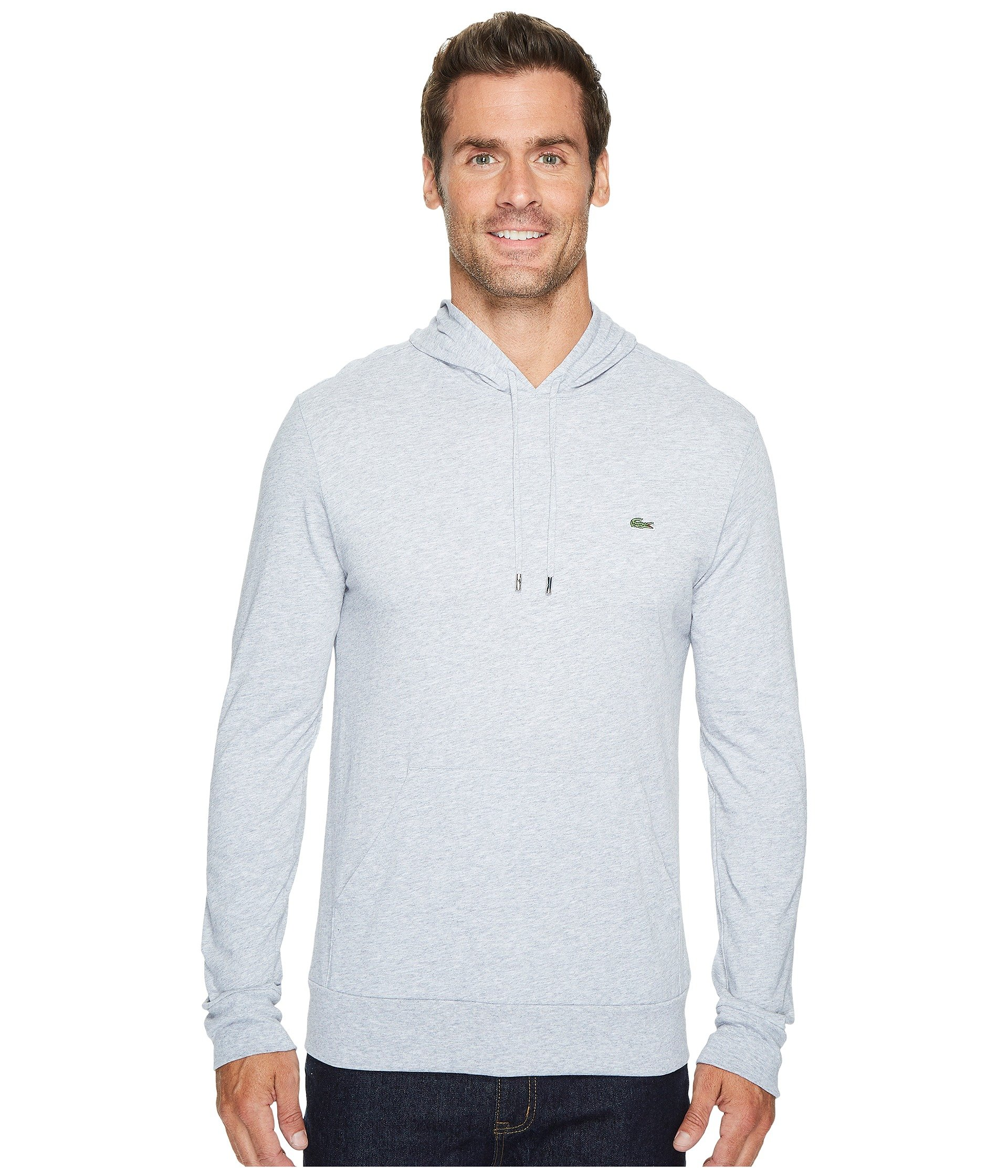 T shirt Hoodie Silver Chine Jersey Lacoste Fq5wA6q