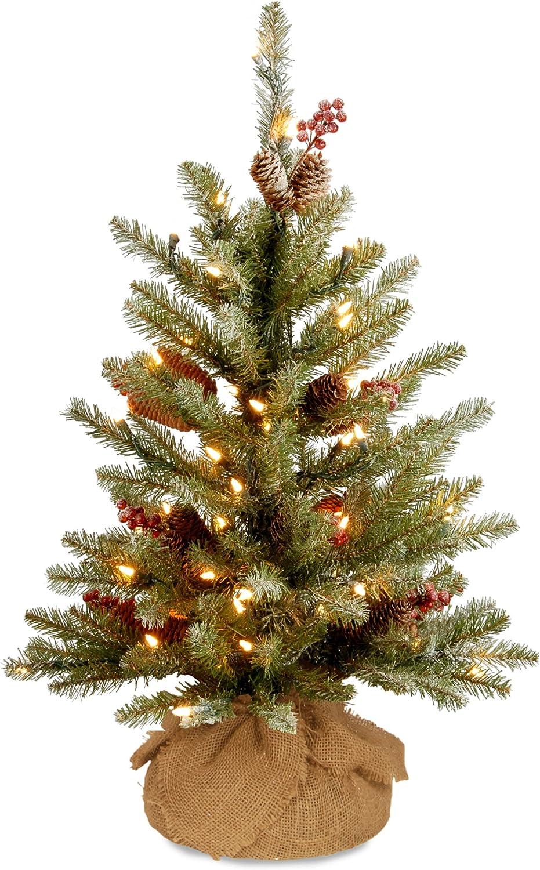 National Tree Company Long Beach Mall Pre-lit Artificial I Sale Special Price Mini Christmas