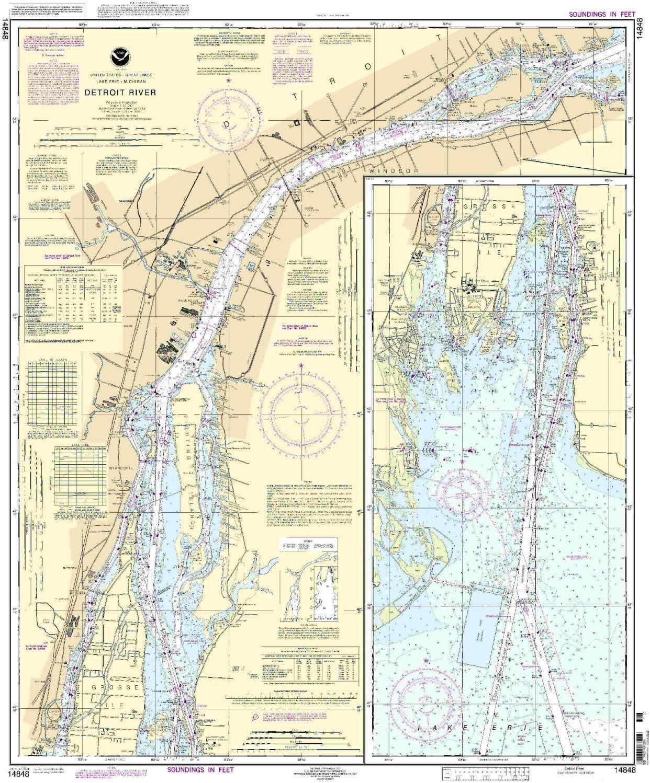 NOAA 14848 River Detroit Discount is also 4 years warranty underway