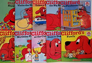 Clifford Big Red Reader Mega Pack (10 Titles) Clifford for President; Tummy Trouble; The Mystery of Kibble Crook; The Big Itch; The Dog Who Cried Woof; The Show and Tell Surprise; The Stormy Day Rescue; The Big Bad Cold; The Snow Dog; Ice Race