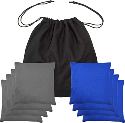 2021 Cornhole wholesale Bags Premium Weather Duckcloth Cornhole Bean Bags Cornholebags Set of 8 high quality Regulation online sale