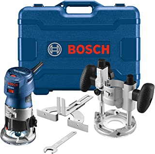 Bosch GKF125CEPK Colt 1.25 HP (Max) Variable-Speed Palm Router Combination Kit