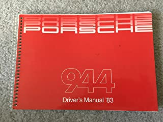 1983 Porsche 944 Owner's Manual Original