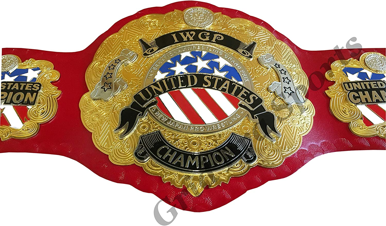 Grid Era Sports IWGP United States Wrestling Championship Replica Belt Adult Size