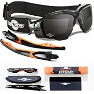 ToolFreak Spoggles, Safety Glasses and Protective Goggles, Eyewear Foam Padded for Comfort and...