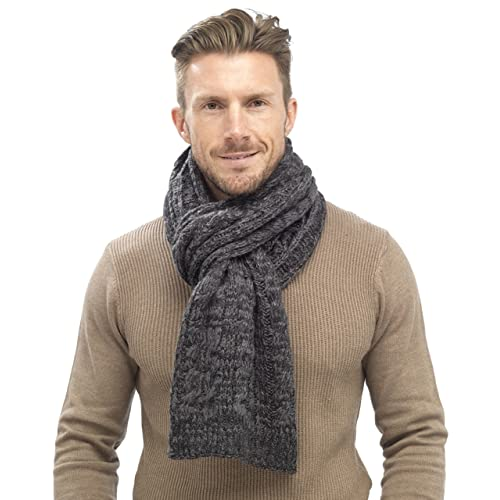 Cable Knit Scarf Amazon Co Uk