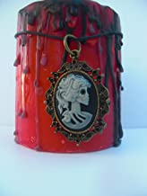 BANISHING or UNWANTED LOVER SPELL CANDLE KIT FREE Spells skeleton cameo charm