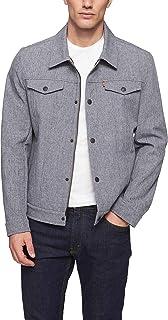 Men's Soft Shell Classic Trucker Jacket (Regular and Big...