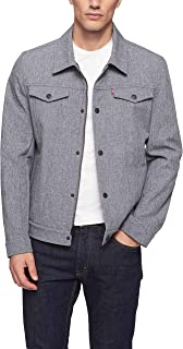Men's Soft Shell Classic Trucker Jacket (Regular and Big and Tall Sizes)