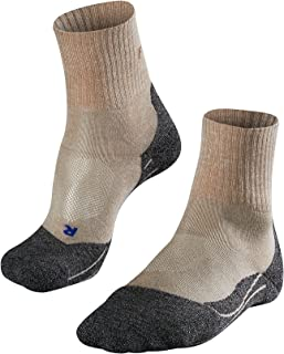 FALKE Women's TK2 Short Cool Hiking Socks - Low Cut, Multiple Colours, UK Sizes 2.5-8 (EU 35-42), 1 Pair - Cushioned, Anti...
