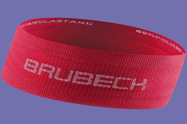 Feuchtigkeitstransportierend Herren Damen 3D-Gewebe Fitness Damen Funktionskleidung Headband Laufen Atmungsaktiv Brubeck Unisex Funktions Stirnband BD10050 Herren Radsport