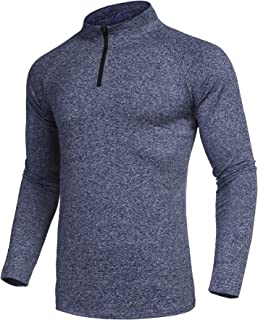 COOFANDY Men Active Pullover Sporty Cycling Running Quick Dry Top Shirts
