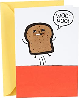 Hallmark Shoebox Funny Birthday Card (Toast)