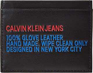 CALVIN KLEIN UTILITY CARDHOLDER for MEN-BLACK
