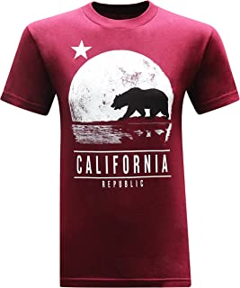 California Republic Moonwalk Men's T-Shirt