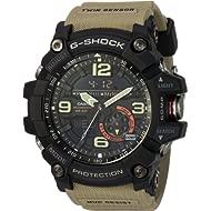 G Shock Quartz Watch with Resin Strap, Beige, 30 (Model: GG1000-1A5)