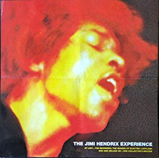 Jimi Hendrix - Making of Electric Ladyland - Rare Advertising Poster