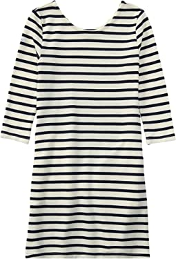Polo Ralph Lauren Kids - Striped French Terry Dress (Little Kids/Big Kids)