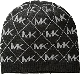 Diamond Metallic Logo Beanie