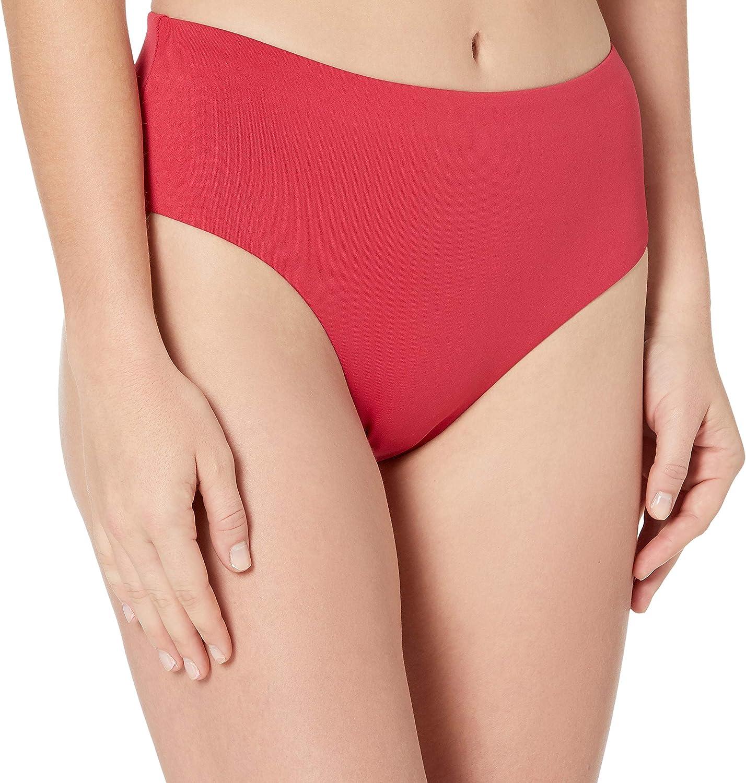 Seafolly Women's Clean Finish Wide Side Bikini Bottom Swimsuit