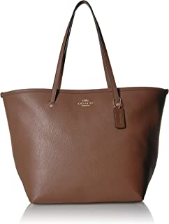 Women's Leather Large Street Tote