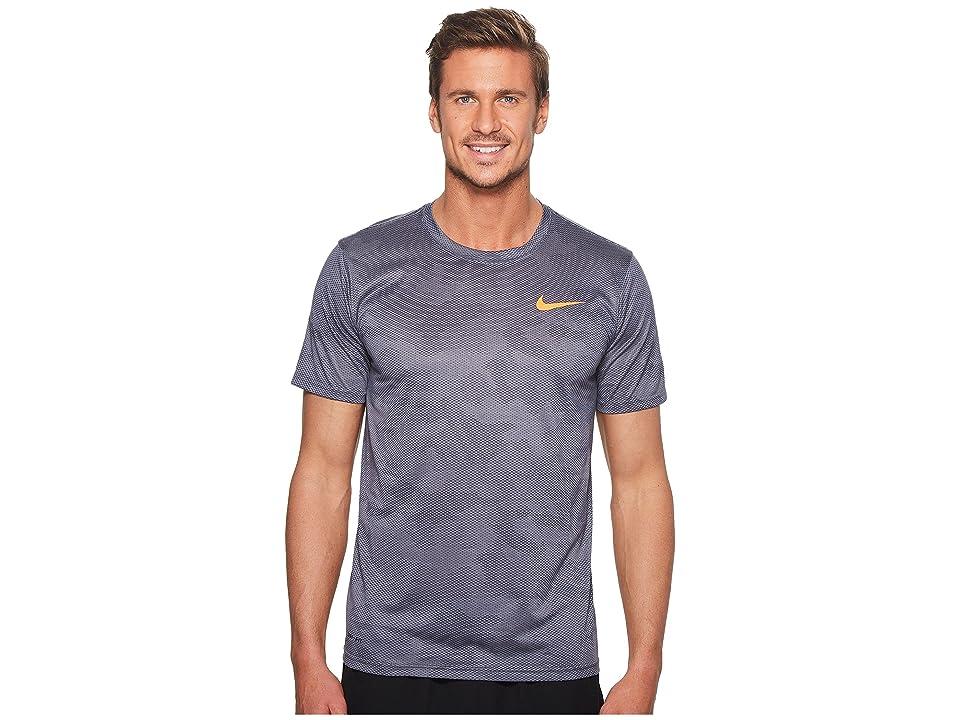 Nike Dry Legend Training T-Shirt (Light Carbon/Thunder Blue) Men
