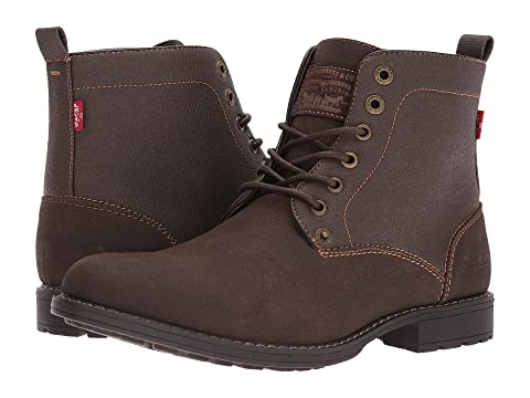 Black Levi's Lakeport Mono ChromeDark Brown Shoes RAFZqw