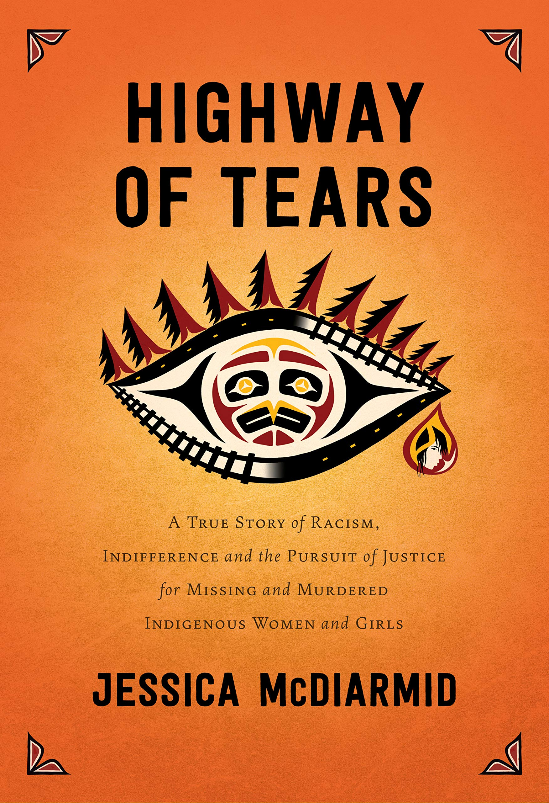 Cover image of Highway of Tears by Jessica McDiarmid