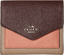 COACH - Small Wallet In Colorblock Leather