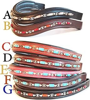 making browbands for horses