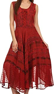 Best stone embroidery dresses Reviews