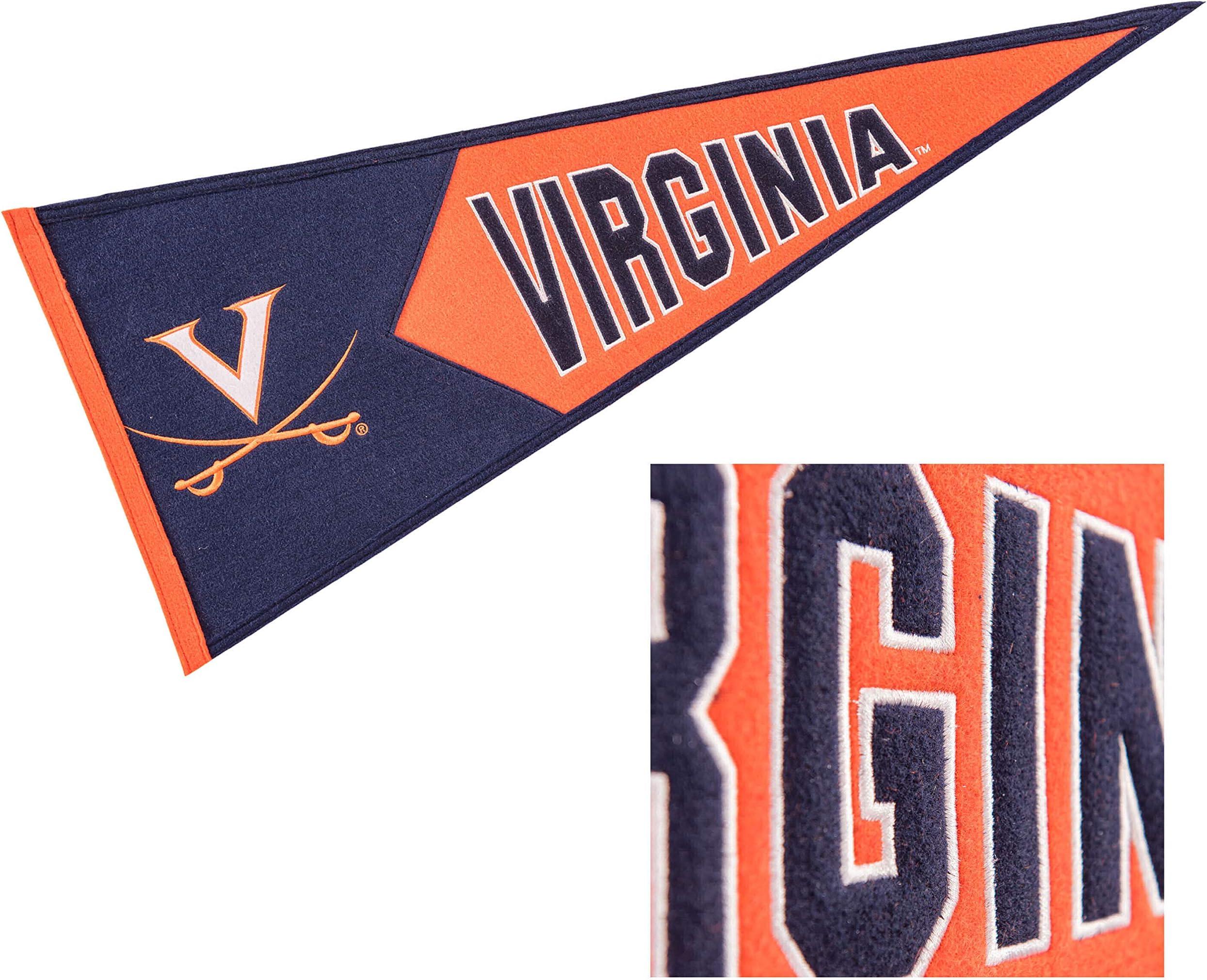 Winning Streak Virginia Cavaliers Wool Embroidered and Sewn Pennant