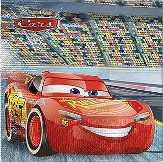 Boys Girls Disney Cars Racing Birthday Party Napkins Tableware Decorations Celebration Lightning McQueen (Napkins)