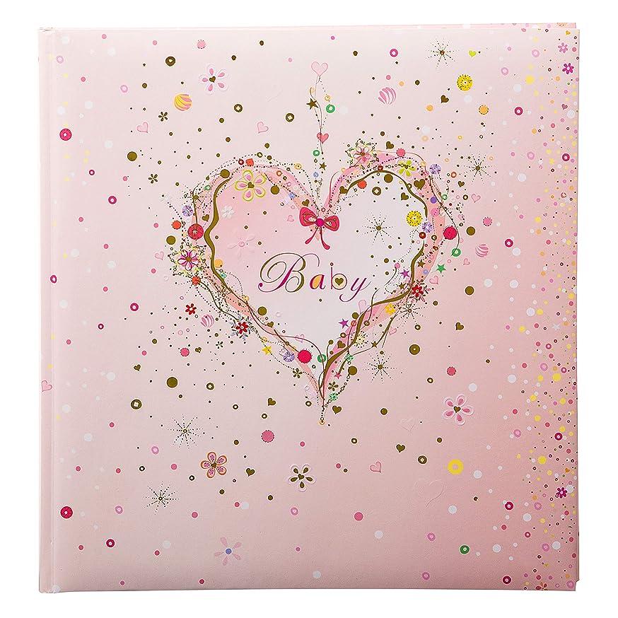 Goldbuch 15?315?Heart Baby Photo Album, Board, Pink, 30?x 31?cm