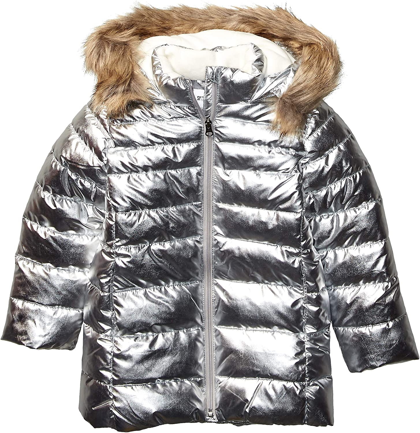 Brand - Spotted Zebra Girls' Long Puffer Coat : Clothing, Shoes & Jewelry