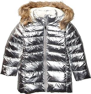 Marca Amazon - Spotted Zebra Long Puffer Coat Niñas